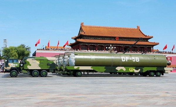В Китае назвали причину отказа от вступления в ДРСМД.
