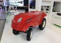 «Роскосмос» продемонстрировал беспилотный трактор