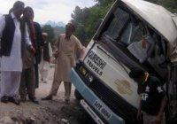 13 человек погибли в Пакистане в результате ДТП с автобусом