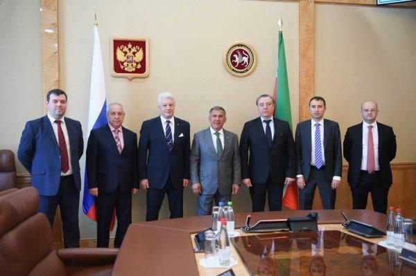 Встреча состоялась в Доме правительства РТ.