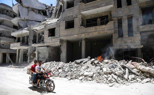 Съемки первой с 2011 года картины завершили в Сирии.