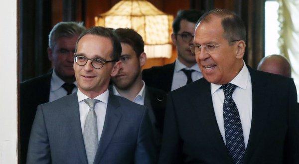 Лавров и Маас проведут переговоры.