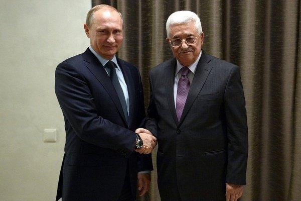 Лидеры России и Палестины провели телефонные переговоры.