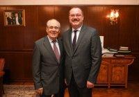 Минтимер Шаймиев встретился с Генеральным консулом Турции в Казани