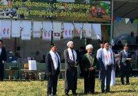 Муфтий посетил XII Республиканский детский мусульманский сабантуй