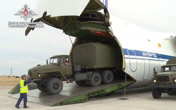 Поставки Турции российских С-400 начались на минувшей неделе.