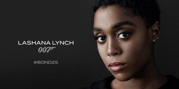 Темнокожая женщина станет новым агентом 007