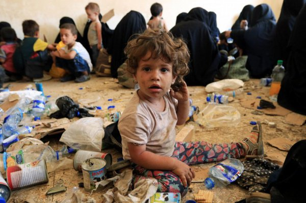 В Ираке по-прежнему остаются сотни детей ИГИЛ.
