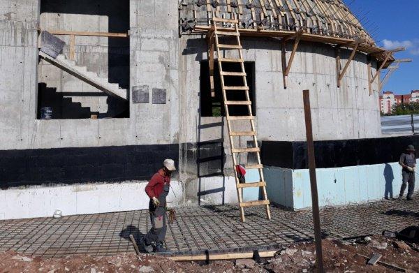 Открытие храма запланировано на 2020 год.