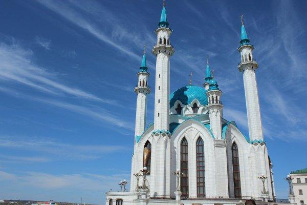 Казанская мечеть оказалась одним из любимых мест туристов.