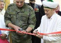 В Омске открыли мечеть для военнослужащих