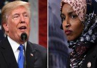 Трамп осудил призывы сторонников депортировать конгрессвуман-мусульманку