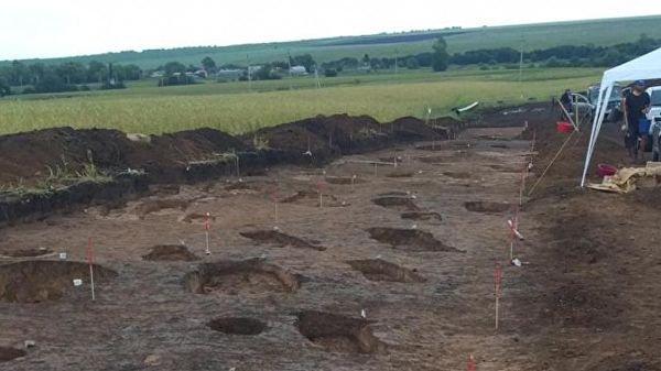Археологическую находку сделали во время прокладки нефтепровода.