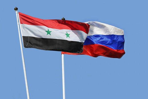 75-летие установления диплотношений отметили Россия и Сирия.