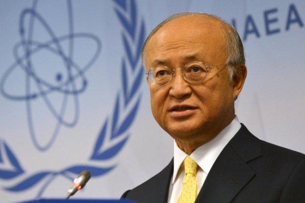 Юкия Амано возглавлял МАГАТЭ с 2009 года.