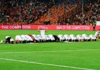 Сборная Алжира по-мусульмански отметила победу на Кубке Африки