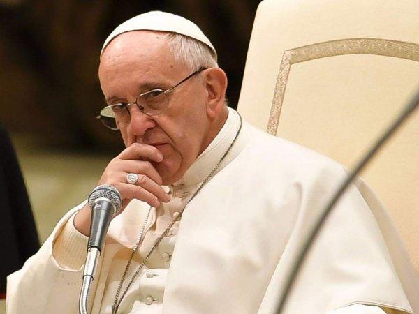 Папа Римский выразил обеспокоенность ситуацией в Сирии.