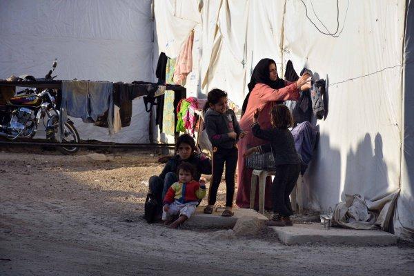 В Ливане назвали число сирийских беженцев.