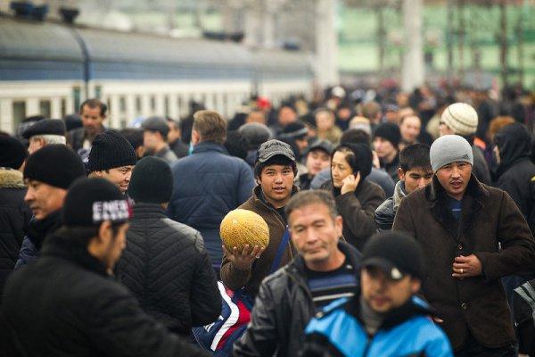 В России зафиксирован резкий прирост числа мигрантов.