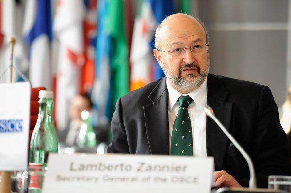 Ламберто Занньер встретился с депутатами Госдумы.