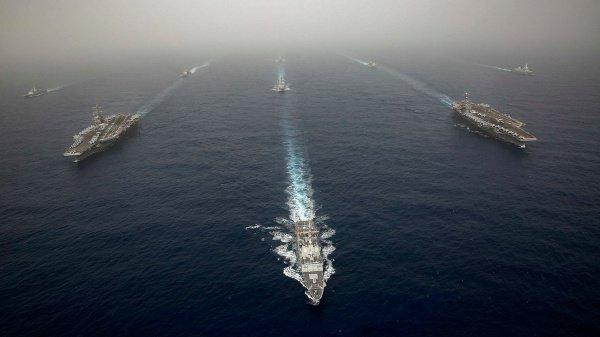 Персидский залив продолжает оставаться зоной напряженности.