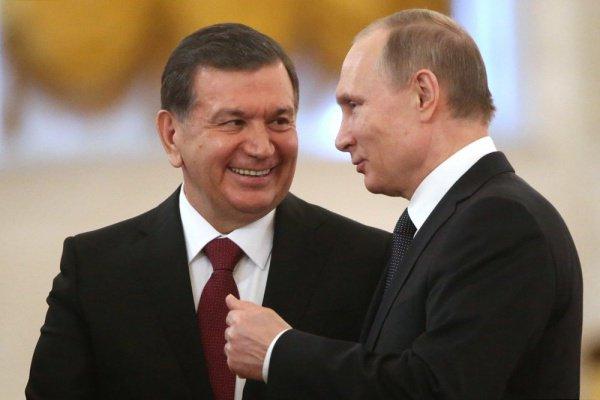 Владимир Путин поздравил с днем рождения узбекского коллегу.