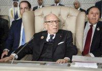 СМИ: 92-летний президент Туниса госпитализирован