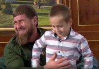 Кадыров взял в свою охрану шестилетнего мальчика
