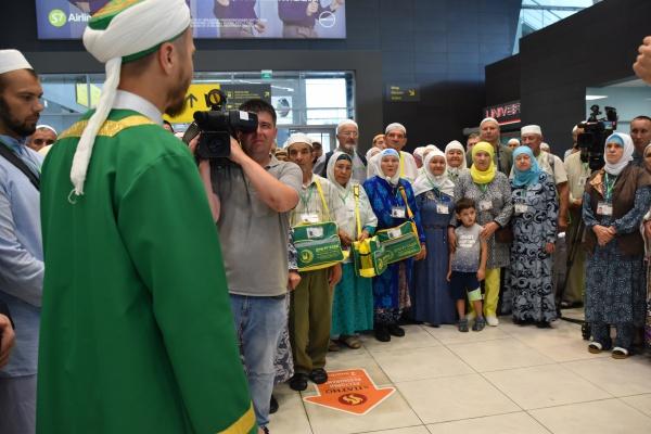 Из Казани в хадж отправилась первая группа паломников.
