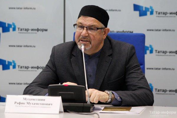 В Казани состоялась пресс-конференция с участием ректора РИУ.