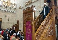 Камиль Самигуллин провел пятничную проповедь в Соборной мечети Минска