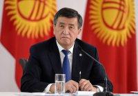 Жээнбеков: Киргизия намерена развиваться вместе с Россией