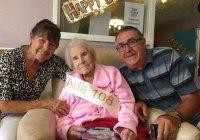 108-летняя британка раскрыла секрет долгожительства