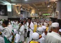 Около миллиона паломников прибыло в Саудовскую Аравию на Хадж