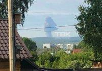 Взрыв прогремел на территории воинской части в Красноярском крае