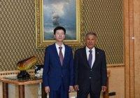 Минниханов заявил о необходимости развивать сотрудничество с Казахстаном