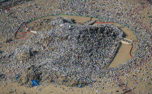 Стояние на горе Арафат.