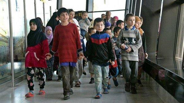 В Россию из Ирака вернется последняя группа детей.
