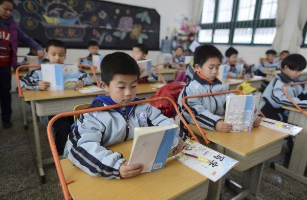 Школьники в Китае не будут встречать упоминаний о Боге в учениках.