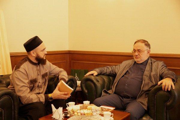 Встреча состоялась в резиденции ДУМ РТ.