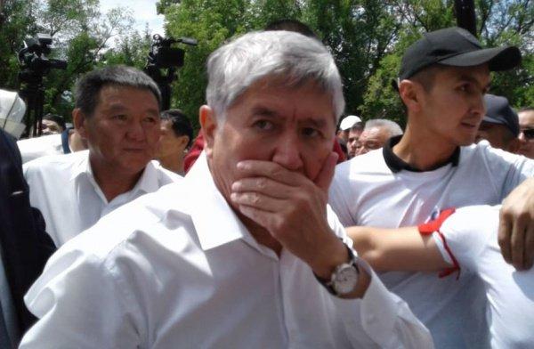 Киргизские СМИ сообщили о задержании Алмазбека Атамбаева.