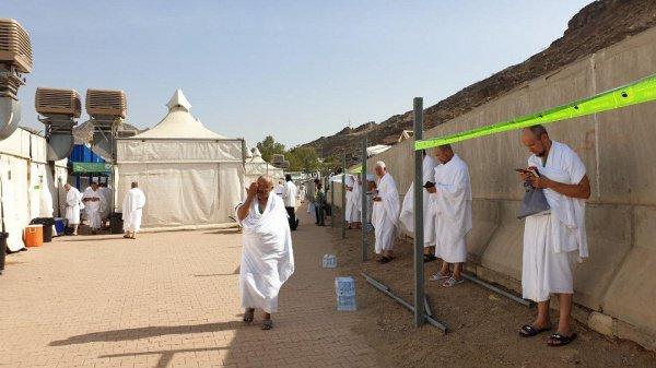 Паломники готовятся к обрядам Хаджа.