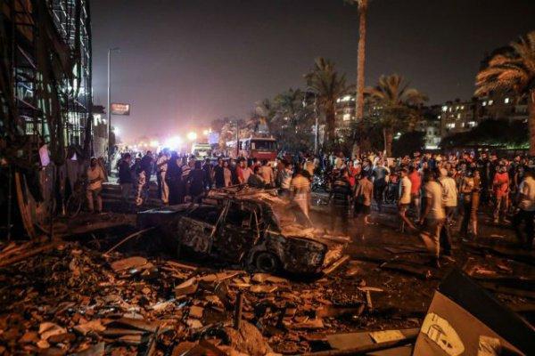 Взрыв в Каире прогремел 5 августа.