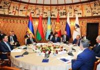 В Бишкеке проходит встреча глав правительств ЕАЭС