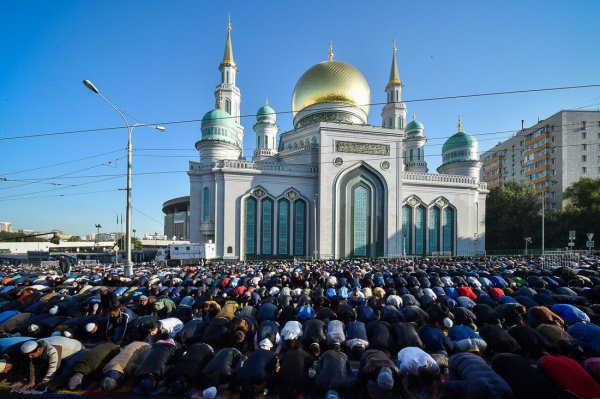 В Москве завершается подготовка к Курбан-байрам.