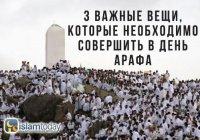 День Арафа 2019: 3 вида поклонения