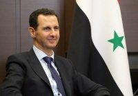 Президент Сирии принял участие в праздничной молитве в мечети Дамаска