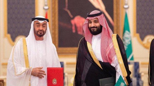 Принц Мухаммад бин Заид и принц Мухаммад бин Салман