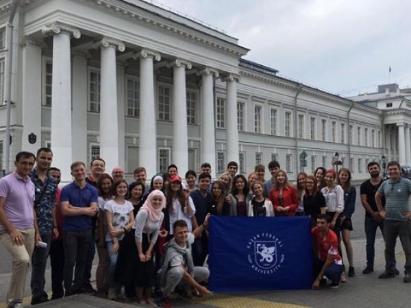 Участники летней школы «Болгарский диалог культур» знакомятся с историей Болгар