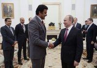 Эмир Катара пригласил президента России в Доху
